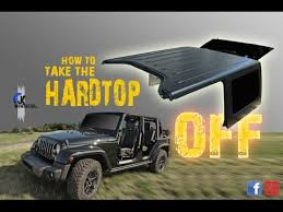 my jeep wrangler jk jeep wrangler jk how to remove the hardtop mopar youtube