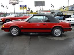 83 mustang gt for sale 1983 ford mustang convertible for sale