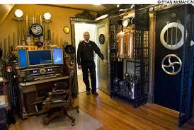 steunk home decor ideas bruce rosenbaum steunk interior design s unlikely leader