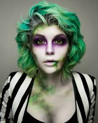 cute makeup halloween ideas tim burton u0027s cult classic beetlejuice can be a difficult look to