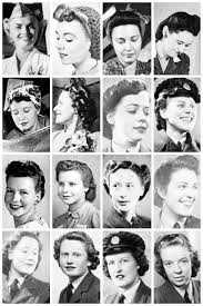 wwii hairstyles a collection of wwii photographs the vintage