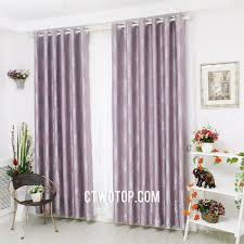 elegant purple living room curtains with jacquard pattern