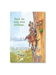 leanin tree no turning back birthday card 19938 buffalo trader
