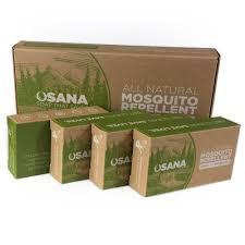 Best Plant For Mosquito Repellent Amazon Com Osana All Natural Mosquito Repellent Soap 3 Bars 1