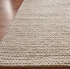 Wool Modern Rugs Modernrugs Chunky Cable Knit Woven Felted Wool Modern Rug