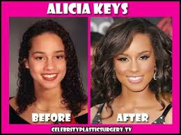 tamar braxton nose job before after has alicia keys had plastic surgery nose job before and after photos