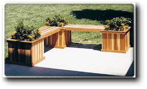 Garden Bench Woodworking Plans Free by Planter Bench Woodworking Plans