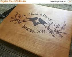 wedding cutting board uniquely personalized cutting board by taylorcraftsengraved