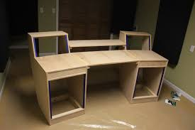 home studio workstation desk awesome chic home studio desk plans recording studio workstation