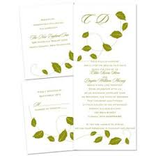 wedding invitations 1 falling leaves 3 for 1 invitation invitations by