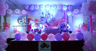 Horse Birthday Decorations Aica Events Barbie Horse Chariot 4d Birthday Theme Decorators In