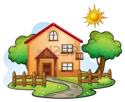 drawing clipart house pencil and in color drawing clipart house