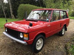 maroon range rover land rover range rover classic 3 5 1970 for sale classic trader