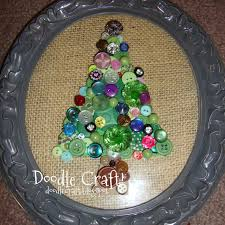 doodlecraft jeweled vintage buttons tree decor