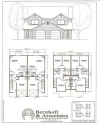 duplex plans multi family dwellings 20 duplex house plans