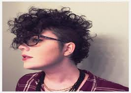 tomboy hairstyles curly hairstyles awesome tomboy hairstyles for curly hair new jpg