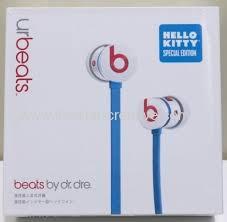 kitty beats urbeats limited edition earphone headphones
