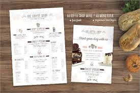 coffee shop menu template 25 coffee menu templates free premium