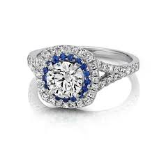 sapphire engagement rings and sapphire engagement ring with pav eacute setting