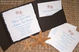 starfish wedding invitations starfish wedding invitations wedding corners