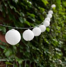 solar string lights white solar mini lantern string lights strand of 30