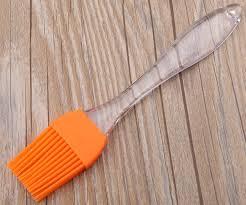 1 silicone basting u0026 pastry brush u2013 orange great for spreading