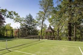 Build A Basketball Court In Backyard 22 Luxurious Tennis Court Ideas