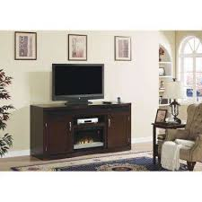 Fireplace Console Entertainment by Electric Fireplaces Fireplaces The Home Depot
