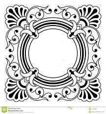 ornamental border design element stock vector image 11229652