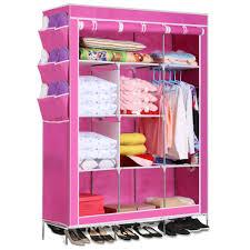 5 color homdox portable organizador del armario de almacenamiento