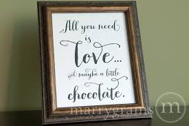 Wedding Buffet Signs by All You Need Is Love Wedding Chocolate Bar Dessert Station