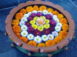 Floating Flowers Fresh Flowers Floating Rangoli How To Make A Flower Floating