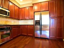bathroom entrancing kitchen colors dark wood cabinets solid in