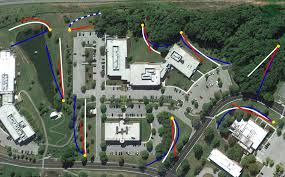 Map Of Virginia Tech by Disc Golf Course The Vtcrc Vt Corporate Research Center