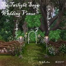 wedding arches on sims 3 twilight wedding venue by s3katana the exchange community