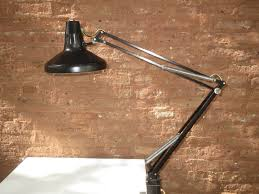 Light Up Drafting Table by Vintage Luxo Color Correct Drafting Table Adjustable Dual Light