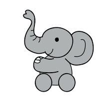 coloring pages baby elephant coloring pages kids baby