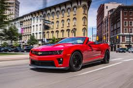 camaro zt1 used 2014 chevrolet camaro zl1 pricing for sale edmunds