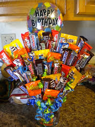 candy arrangements candy bouquet completed creations candy bouquet