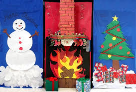 Door Decorations For Winter - craftionary