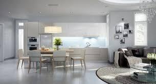 ouverture salon cuisine idee amenagement salon cuisine 3 best decoration avec ouverture sur