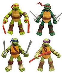 amazon teenage mutant ninja turtles 3 pack exclusive leonardo