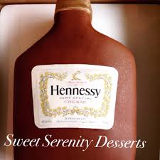 custom hennessy bottle cake yelp