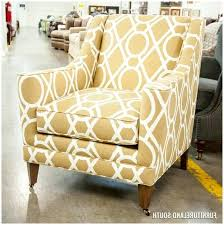 Chevron Accent Chair Gray And Yellow Accent Chair To Accentuate Your Small Space