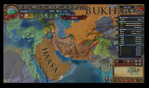 New Middle East Map by A Very Brown Middle East Eu4