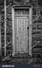 House Front Door Rundown House Front Door Very Bad Stock Photo 454866637 Shutterstock