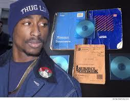 tupac shakur resurrected handwritten notebooks and new music