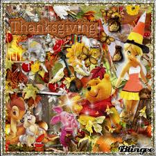 happy thanksgiving from disney picture 126878192 blingee