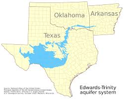 Colorado River Texas Map by Edwards Aquifer Wikipedia