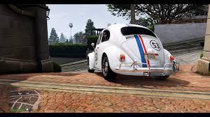 volkswagen beetle white 2016 volkswagen beetle livery herbie white gta5 mods com